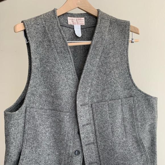 Men's Filson wool vest XL